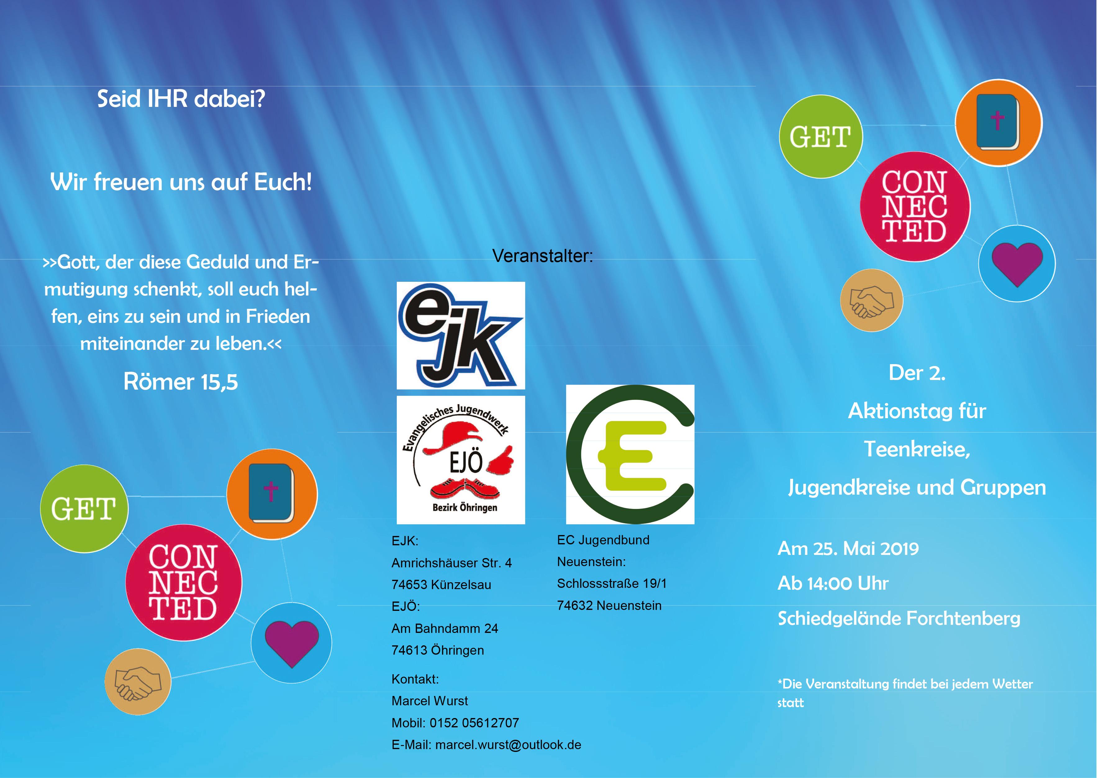 Get Connected Jugendkreise @ Scheidhütte Forchtenberg