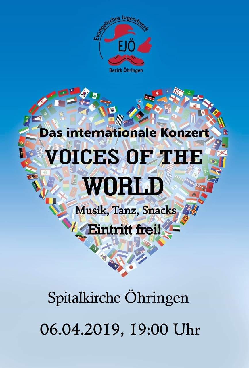 Konzert der EVS Freiwilligen and friends @ Spitalkirche Öhringen